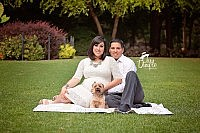 Grapevine Botanical Gardens maternity session