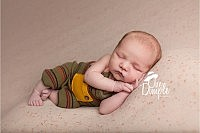 In-home newborn session with baby boy