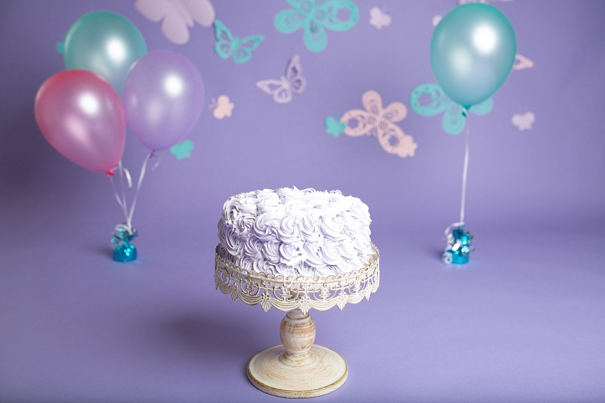 butterfly cake smash DFW