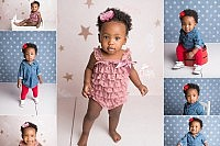 Fort Worth 1 year baby girl session