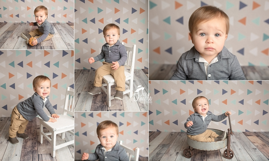 1 year little boy session