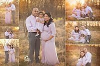 Southlake Maternity Session with backlighting