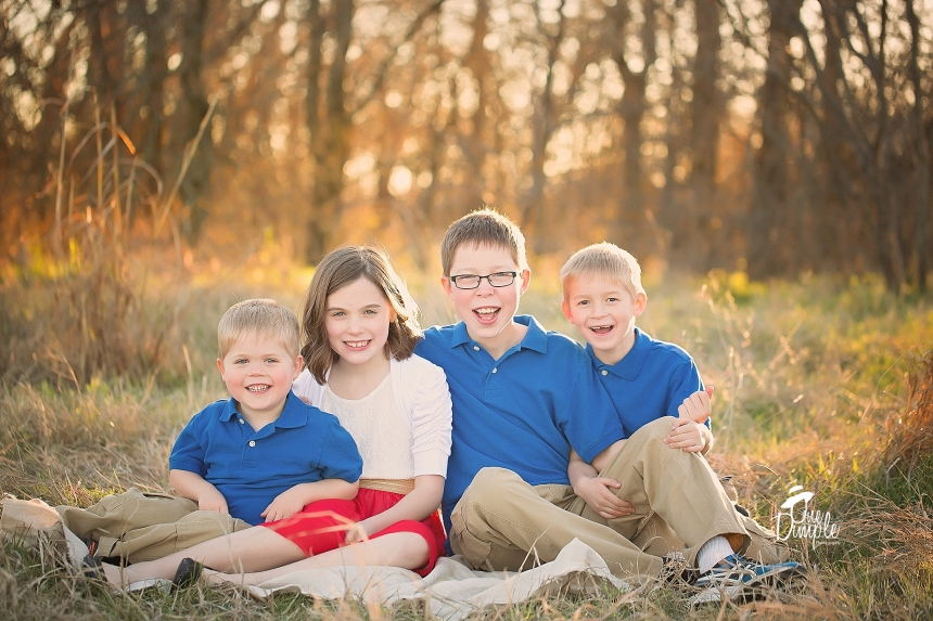 DFW Outdoor Sibling Session