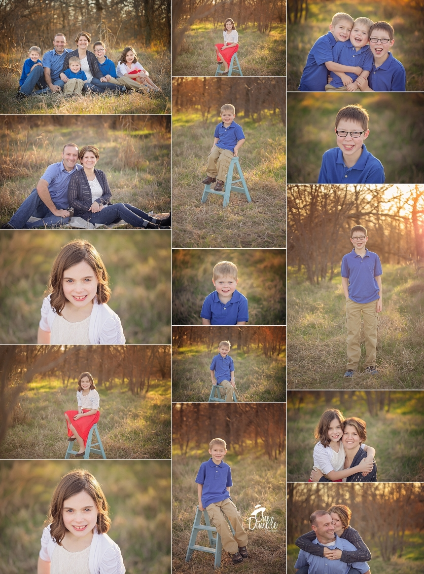 DFW Outdoor Family Session