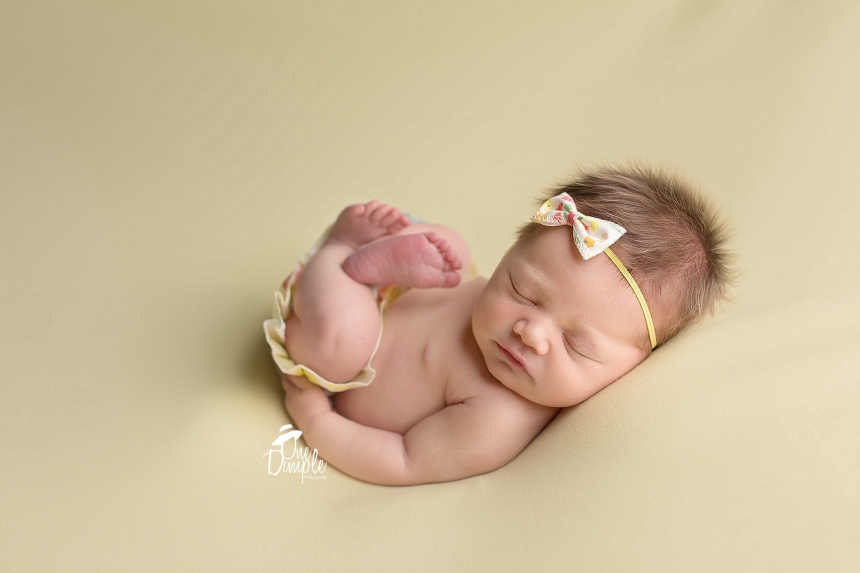 southlake in-home newborn session