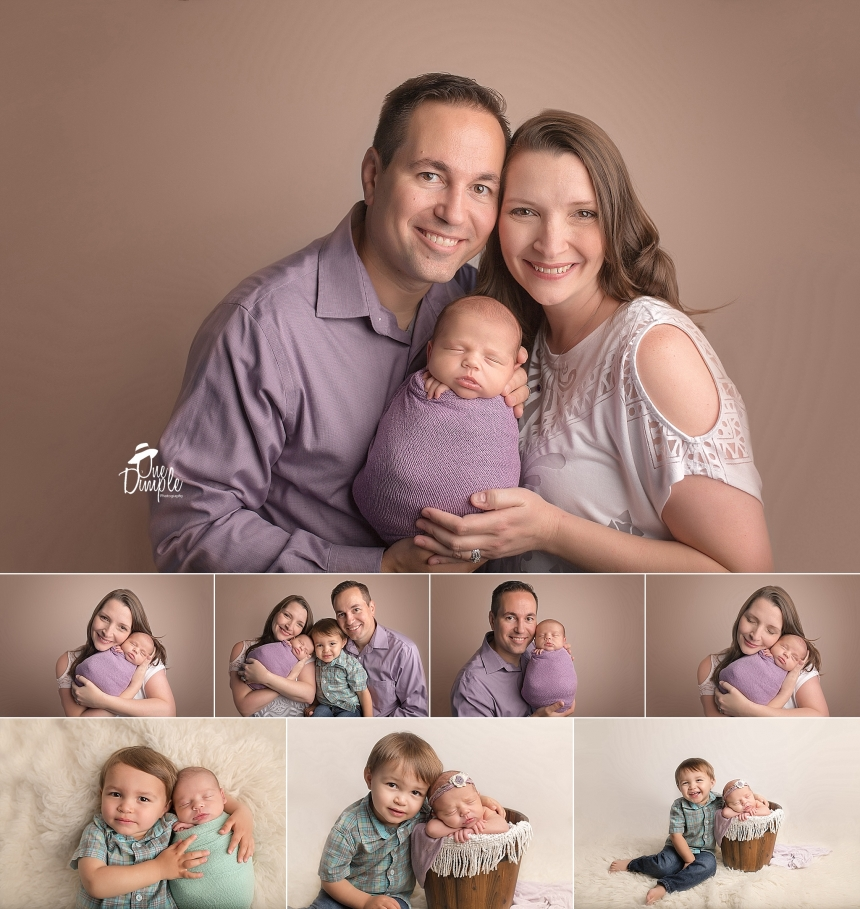 Fort Worth Family Newborn Posed Photography