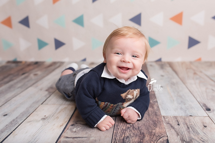 One Dimple Photography Dallas Fort Worth 3 Month Photographer