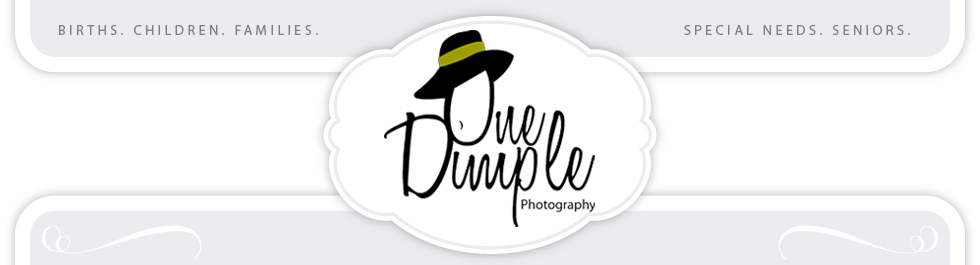 One Dimple Photography logo